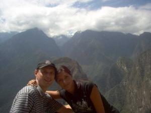 View from Machu Picchu, Peru