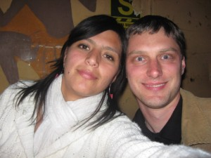 Ward Welvaert and Patricia Carrasco in Cusco, Peru