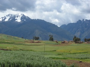Typical Peruvian countryside