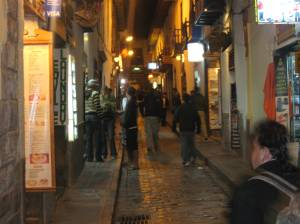 Calle Procuradores, Cusco