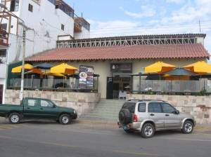 El Mochica, seaside restaurant in Huanchaco, Peru
