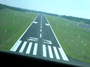 Landing at LHZ, Louisburg NC
