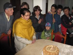 Mama Vicky on her birthday