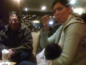 Breastfeeding at Don Esteban & Don Pancho