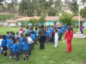 Poor rural children in Peru