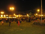 Plaza de Armas Cusco on Halloween