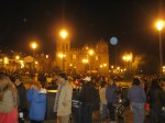 Halloween at the Plaza de Armas in Cusco, Peru