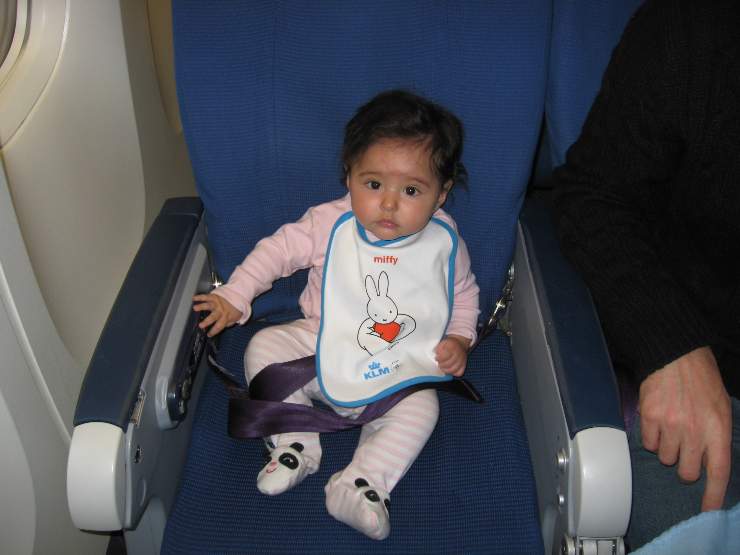 Baby bed airplane - Baby On Airplane
