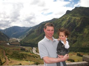 Overlooking the Sacred Valley of the Inka