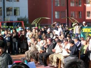 Grand opening ceremony