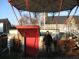 A bombshelter in Oostakker, Belgium