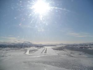 Landing at Egilsstadir, Iceland (BIEG)