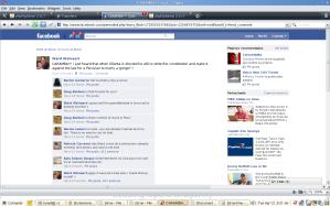 Facebook screenshot Ollanta Humala