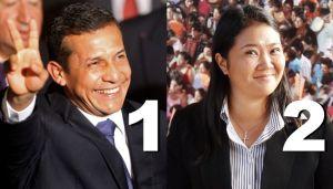 Exit polls show Ollanta Humala leading Peru elections 2011