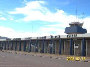 Cuzco airport terminal