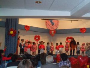Mother's day dance at Brianna's kindergarden