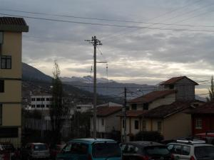 morning walk after a rainy night in Cuzco Peru