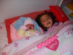 Our beautiful baby girls