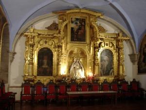 altar gold Peru
