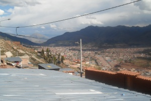 Alto Cusco view to San Jeronimo