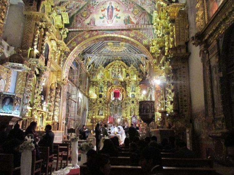 Church of  San Pedro de Andahuaylillas, Sistene Chapel of South America