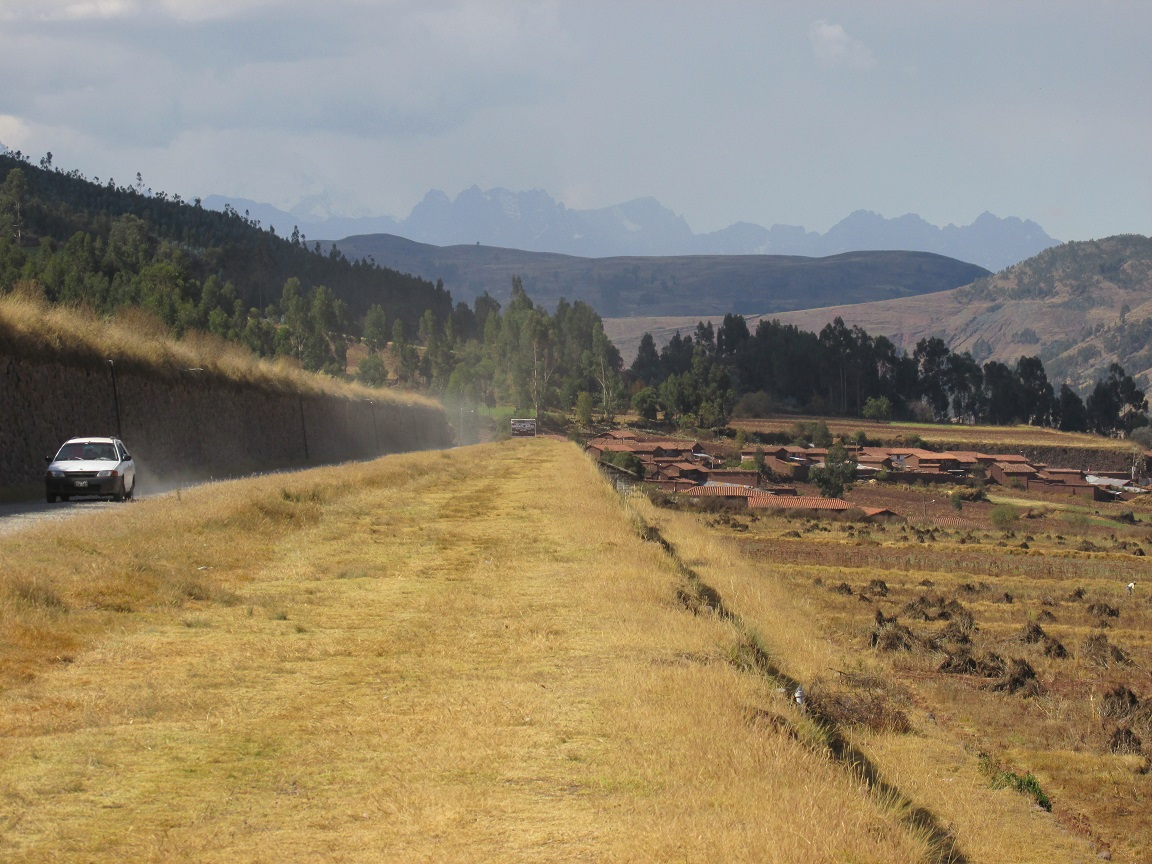 Los Andenes, Inca terraces near Huarocondo, Cusco, Peru