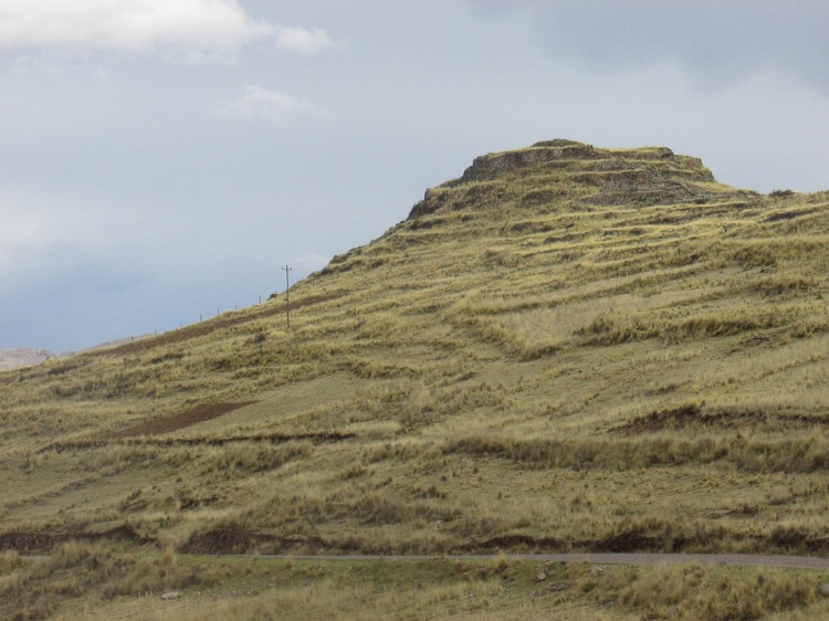 possible unrestored Inca site in Peru