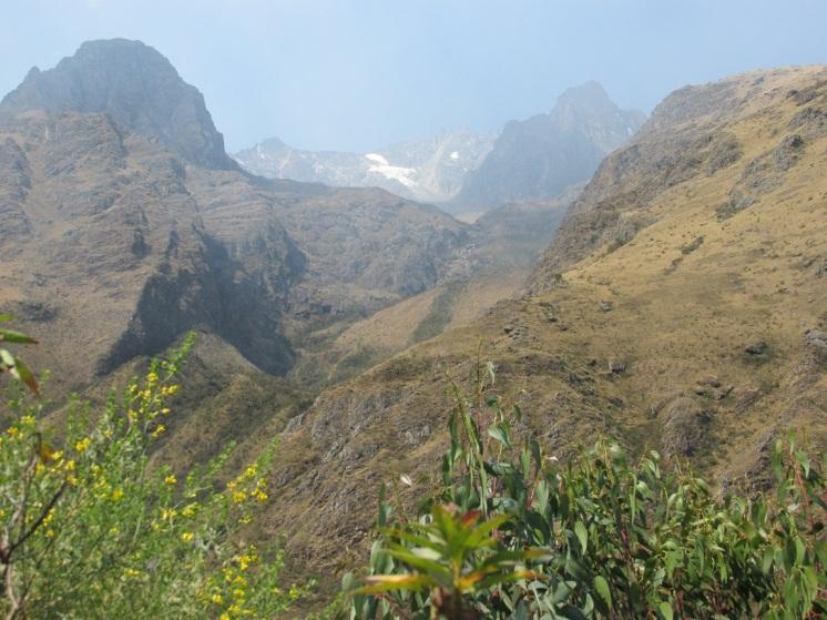 road from Ollantaytambo to Abra de Malaga