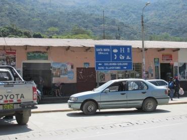 road to Quillabamba, Santa Teresa and Machu Picchu